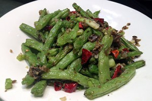 Szechuan Dry-fried Green Beans