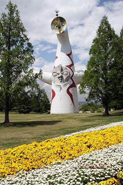 万博記念公園太陽の塔前庭